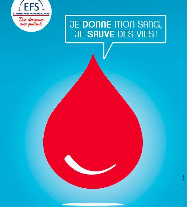 COVID-19 – La collecte de sang doit se poursuivre
